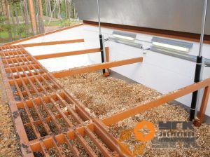 Топливный бункер-биотопливной котельной