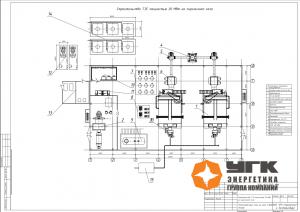 Строительство ТЭЦ 20МВт на пиролизном газе