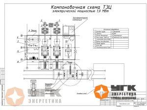 Схема мини-ТЭЦ лузга 1МВт