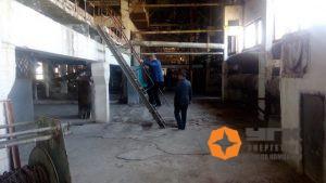 Осмотр городской котельной, предлагаемой казахстанской стороной для организации совместной деятельности