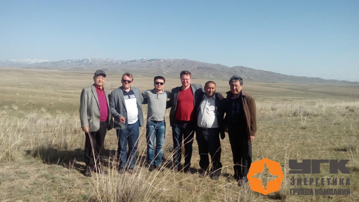Команда «УГК - энергетики» и наши казахстанские друзья и партнеры